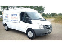 VAN HIRE CHINGFORD - HAYDEN SELF DRIVE LTD - SAME DAY HIRE - TRANSIT - LUTON - LOW DEPOSIT - NO VAT