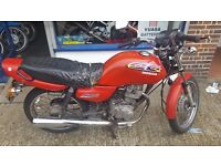 1997 Honda CG 125 for sale great little commuter + New Clutch included