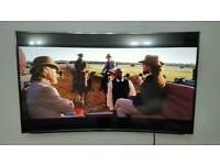"""Panasonic Viera TX-55CR852B 55"""" Inch Curved Ultra HD 4K HDR LED Smart 3D TV"""