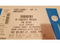 Skids concert tickets
