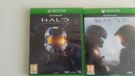 Halo 1 to 5 xbox one