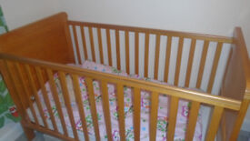 Free Childs Cot ( converts to cotbed )