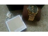 Ladies Marc Jacobs & Michael Kors watches..beautiful 100% genuine boxed & instructions