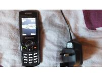 Samsung SGHG600 Mobile Phone with Mains uk charger and T mobile sim