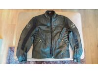 Hein Gericke two-piece motorcycle leathers with Hiprotec* armour