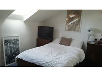 Double Bedroom in friendly professional house