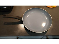 Ceramic-Coated, Non-stick Frying Pan, 30cm Width