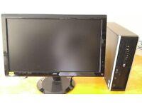 "HP 8100 Elite Business PC Desktop Tower & AOC Widescreen 24""LCD SALE SAVE ��40 LAST ONE"