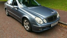 STUNNING BENZ E270CDI,AUTOMATIC,54REG, LEATHER,EXCELLENT RUNNER,PX WELCM,NEGOTIABLE,WOS UR OFFER????