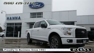 2017 Ford F-150 *NEW* SUPER CREW XLT*301A*SPORT*4X4 5.0L V8 GAS
