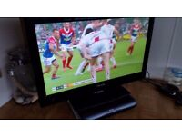celcus tv and sky hd box & dish