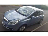 Vauxhall Corsa 1.0 Life. 50000 miles. Full service history. new MOT. 3dr hatchback. blue matallic
