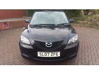 Mazda3 ts 1.4 5 door 1 previous owner in black
