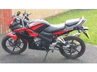 Honda CBR 125 Rw9 - 6000 miles - For Sale