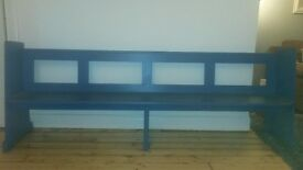Church bench/pew for sale