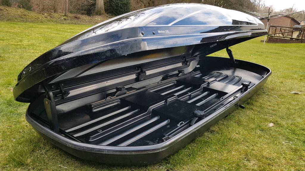 thule motion xxl 900 biggest roof box on the market in. Black Bedroom Furniture Sets. Home Design Ideas