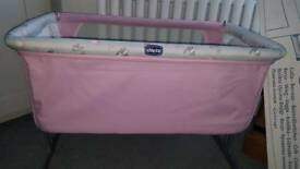 Chicco next to me bed crib cot