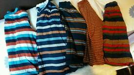 5 x long sleeved tops aged 3-4 years