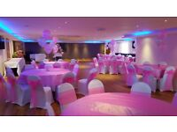 Chair Cover and Balloon Offer from £100