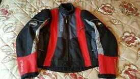 Buffalo textile motorbike jacket medium