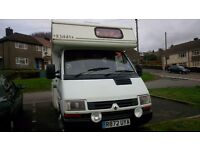 Renault Traffic Self Contained Campervan