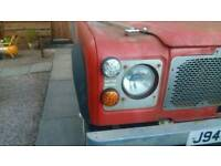 Landrover 90 defender stainless light surround