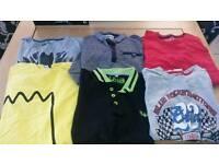 12 years boys tshirts 6 items
