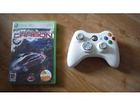 Xbox 360 wireless controller and game cheap