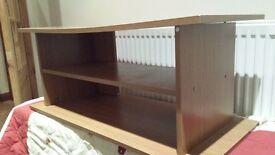 Argos TV unit wood