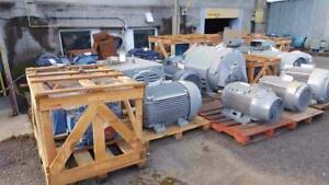 NEW NEVER INSTALLED!!! WEG Severe Duty, 15-300 HP,  3 Phase, 575 Volts Electric Motors