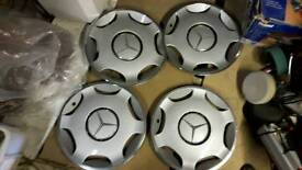 Mercedes C Class wheel trims