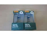472 H4 90% brighter headlamp bulbs