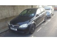 Vaxhuall corsa fully automatic 1.4 black sale