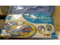 Ludoland Round Puzzle Mat