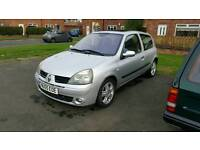 55 Renault clio 1.4 dynamique only 62k