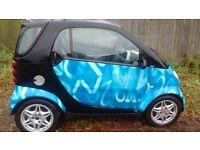 2004 smart city coupe excellent economical car low mies