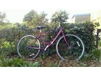 Raleigh ladies bike great condition gear needs slight attention
