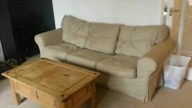 Ikea Ektorp 2 Seater Sofa £70 3 Seater £100
