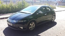 HONDA CIVIC 1.8 i VTEC ES 5dr - FULL BLACK LEATHERS/BLUETOOTH/HEATED SEATS - £2599 ono