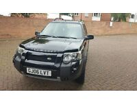 2006 LEFT HAND DRIVE AUTOMATIC FREELANDER TD4 IN LONDON