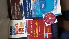 GCSE Maths Revision Books & CD £2 for all