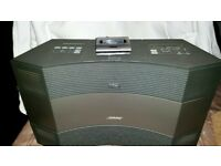 bose music wave system 2 with acoustic wave connect kit for ipods plus 2 remotes