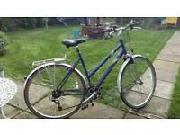 Raleigh pioneer 160 22 frame ladies bike 21 gears