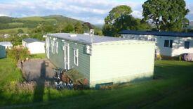 Beautiful, cosy, peaceful static caravan for holidays in Peebles