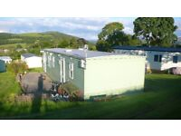 Beautiful, cosy, peaceful static caravan for holidays in Peebles