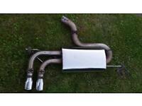 VW Golf MK5 GTI Milltek Stainless Exhaust System