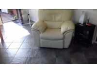3 seat sofa & chair