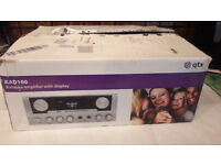kad100 karaoke amplifier with display new in box