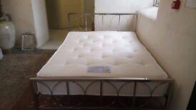 KING SIZE bed + Dream Stress Free Memory Foam mattress £215 CHEAP DELIVERY Stalybridge SK15 2PT