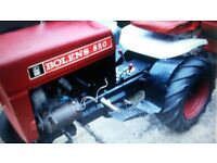 tractor bolens 850 and small trailer ready to use on farms or export